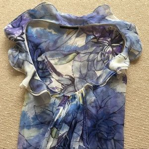 Elise Tahari 100% Silk Floral Dress (sz.8)